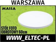 STÓŁ FOTOGRAFICZNY OBROTOWY ELEKTRYCZNY 360st Wwa