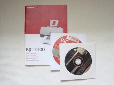 Canon BJC 2100 sterowniki i instrukcja
