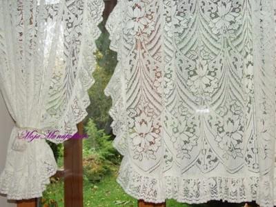 STIEBEL OF NOTTINGHAM-firanka dekoracja okna