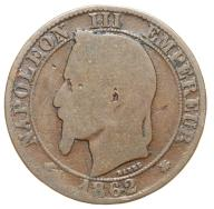 Francja - moneta - 5 Centymów 1862 A - 2