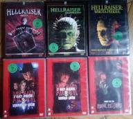 Horrory DVD - Hellraiser , Koszmar z ulicy wiązów