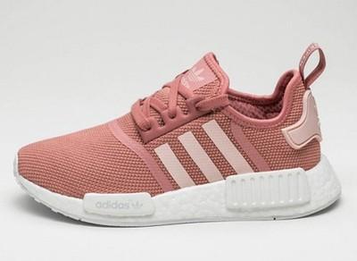adidas nmd rozowe szare