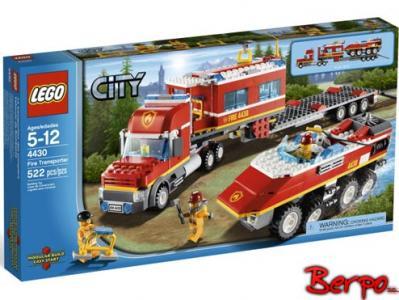 Lego City 4430 Transport Straży Pożarnej Poznań 2688985010