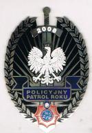 Policyjny Patrol Roku 2008r