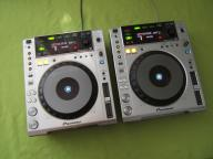 2 X PIONEER CDJ 850 GWARANCJA SREBRNE DJM 700 350