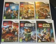 Nintendo Wii Lego Star Wars LoR Indiana Harry UGry