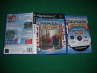 GRA GRY GIER PS2 MAZE ACTION