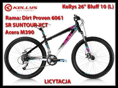 """Rower Kellys 26"""" Bluff 10 L TRUVATIV Hussefel"""