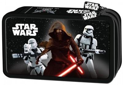 Piórnik PODWÓJNY z wyposażeniem Star Wars Epizod 7