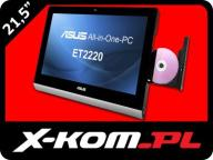 ASUS EEE TOP AIO ET2220 i3-3220 4GB 1000GB GeForce