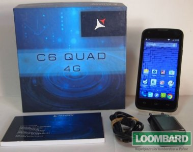 ALLVIEW C6 QUAD 4G B/S + KOMPLET