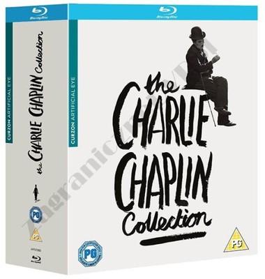 Charlie Chaplin [11 Blu-ray] MEGA Kolekcja Filmów