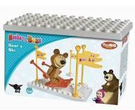 Masza i Niedźwiedź Bear's Ski Play Big Bloxx 57097