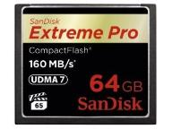 Sandisk CompactFlash Extreme Pro 64GB 160 MB/s