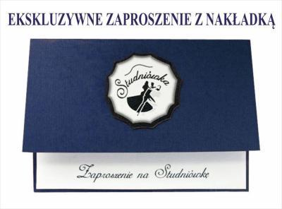 Zaproszenia Na Studniówkę Studniówka Zpst5 Granat 5646169567