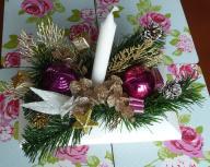 stroik amarantowy