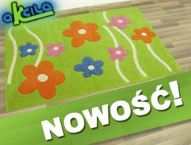 Dywany Dla Dzieci Play Sonic 3d 133x190 Kwiatki 3327341564