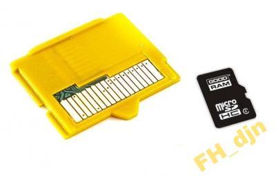 Xd Picture Adapter Goodram Karta Micro Sd 8gb 4966576373