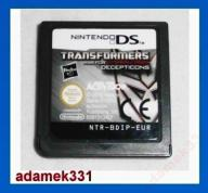 Transformers War for Cybertron Decepticons NDS