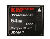 Profesjonalna karta Compact Flash 64 GB