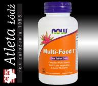 NOW FOODS MULTI FOOD 1 90 WITAMINA SPECIAL TWO ONE