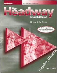 New Headway Elementary Workbook NOWY English Ćwicz