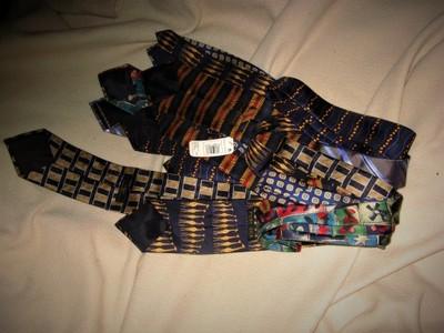 7 nowych  angielskich krawatow  MARKS  SPENCER
