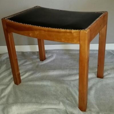 Stołek, taboret, stolik, retro, design, art deco