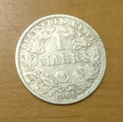 1 marka 1901 A srebro - niemcy