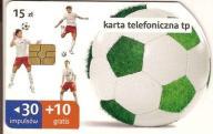 nr 23KP Karta 30+10 gratis Zielona piłka II wycięt