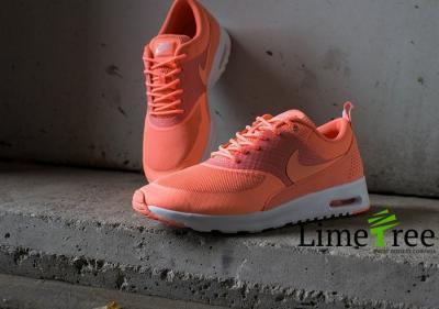 Nike Air Max Thea POMARAŃCZOWE BIAŁE NEONOWE