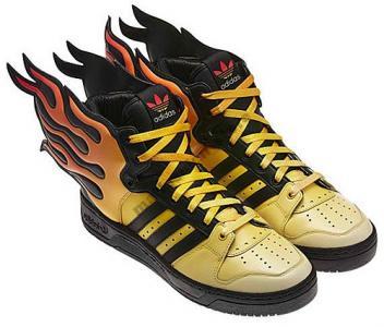Adidas Jeremy Scott Skrzydla Wings Plomienie Fire 4982796402 Oficjalne Archiwum Allegro