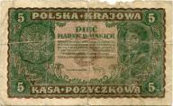 5 marek polskich 1919 ser. N