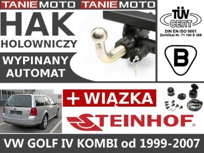 HAK HOLOWNICZY AUTOMAT VW GOLF IV KOMBI 1999-2007