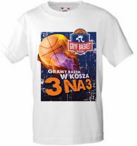 Koszulka T-shirt Gryf Basket Cup SUPER JAKOŚĆ !!!