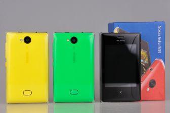 Nowy telefon komórkowy dotykowy Nokia Asha 503