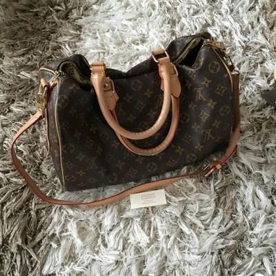 9285cec41122f Torebka torba Louis Vuitton LV Speedy 35 - 6533868376 - oficjalne ...