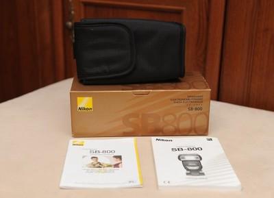 Pudełko oraz pokrowiec na lampę SB-800