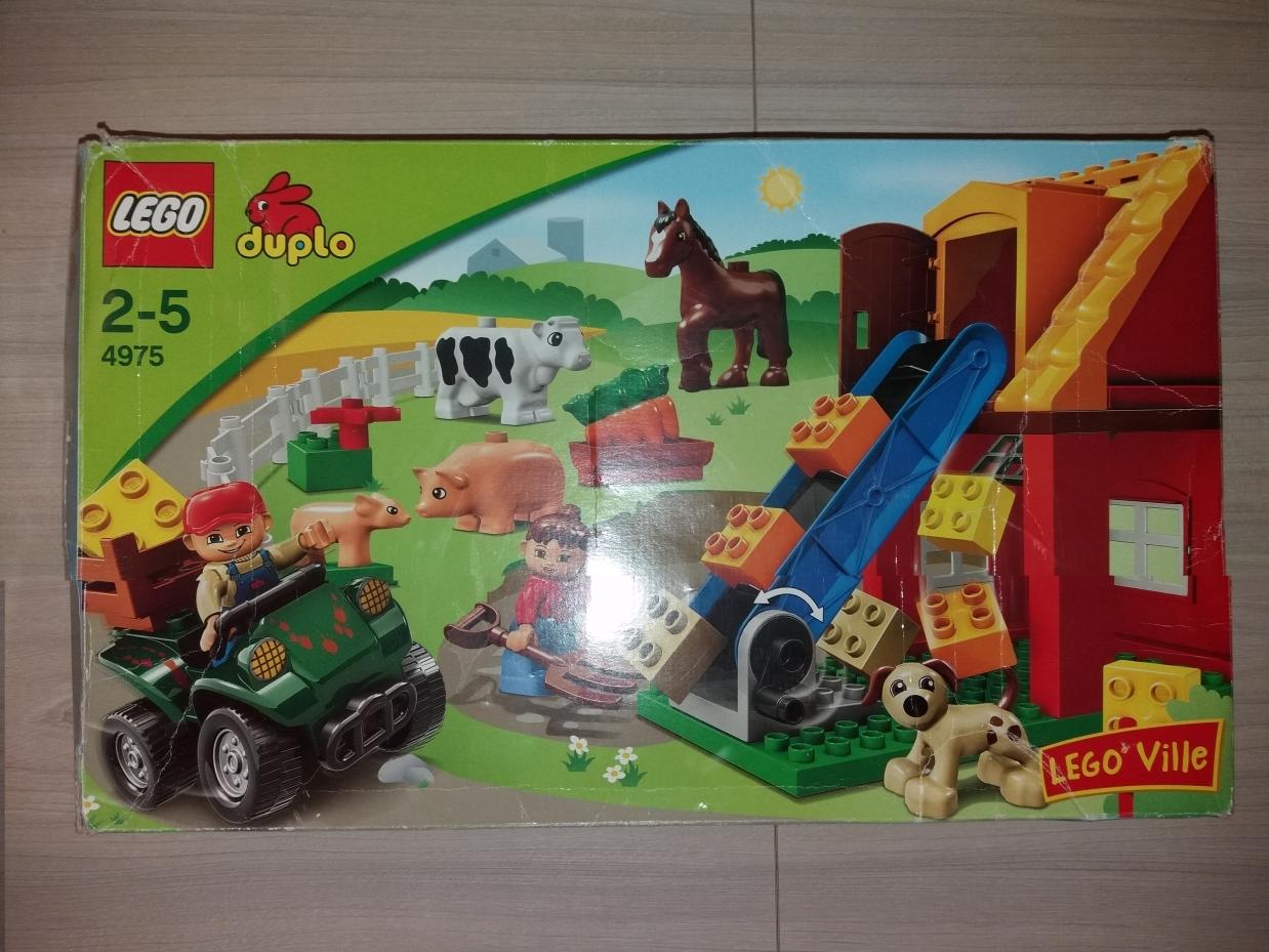 Lego Duplo 4975 Farma Gratis Traktor Rolnik 7047862662