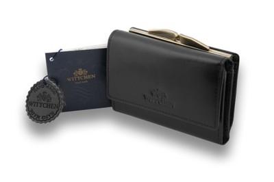 b49a69c8a25cd Czarna portmonetka Wittchen, kolekcja: ITALY SKÓRA - 4825679978 ...