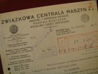 Związk.Centrala Maszyn Sp.Akcyjna POZNAŃ 1930 r.