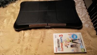 Oryginalna czarna deska Wii Balance Board z grą