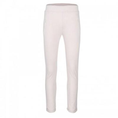 Spodnie- dresy dziewczęce 140 cm ecru