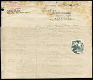 List Ostrów Wlkp. 1957 pismo ZUS