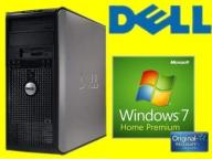 DELL 755 TOWER C2D 2X2330 2GB 80GB DVD WIN 7 HP PL
