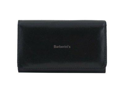 8295227fd92d4 Barberini's - klasyczne portfele damskie CZARNY - 6590546177 ...