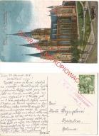 Lwów, Kościół Św. Elżbiety, K.U.K. cenzura 2, 1916