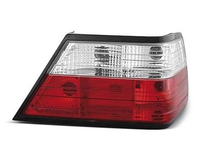 LAMPY TYLNE MERCEDES W124 E KLASA 85 95 CLEAR RED