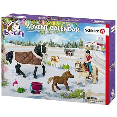 Schleich 97447 Kalendarz Adwentowy Horse Club 2017 6936720547 Oficjalne Archiwum Allegro