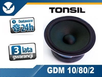 głośnik Tonsil GDM 10/80/2 Oryg. SAMBA RONDO TON